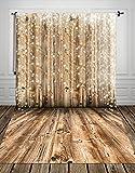 150x300cm Weihnachten Holzboden Fotografie Hintergrund Fotostudio Familie Neugeborenen Pet Geschenke Dekoration Requisiten XT-2661(DE)