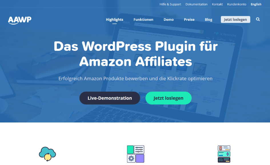 AAWP - Die besten Amazon Affiliate-Plugins