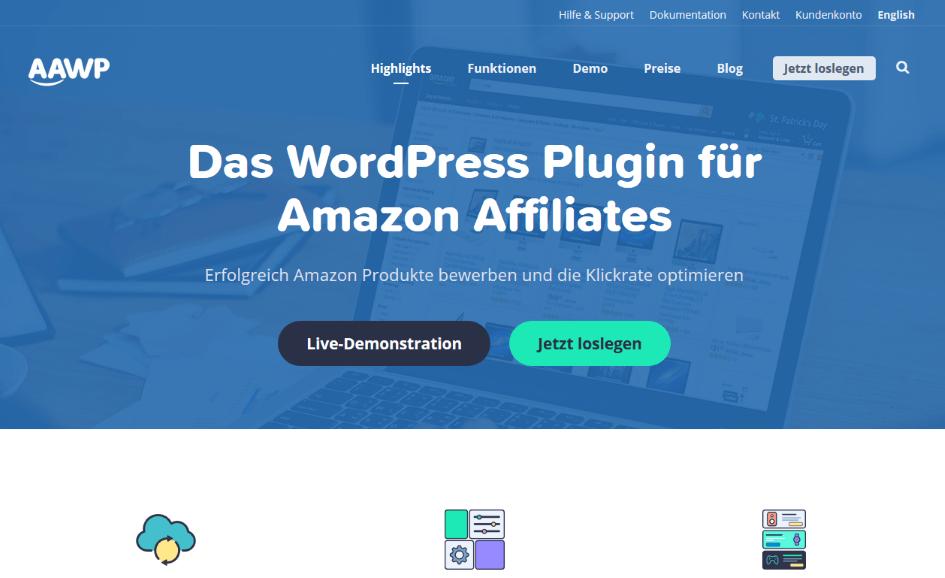 AAWP - Die besten Amazon Affiliate-Plugins