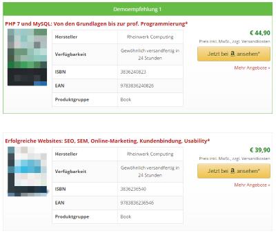 Affiliate-Toolkit - Amazon Affiliate-Plugin
