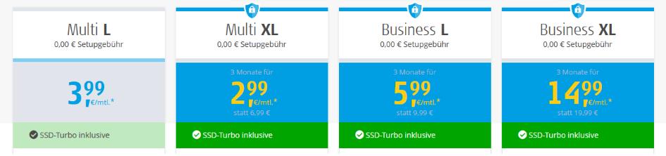 Alfahosting Preise - Die besten Webhosting - Anbieter
