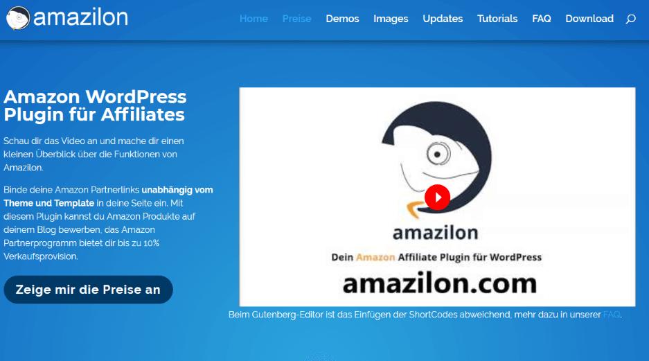Amazilon - - Die besten Amazon Affiliate-Plugins