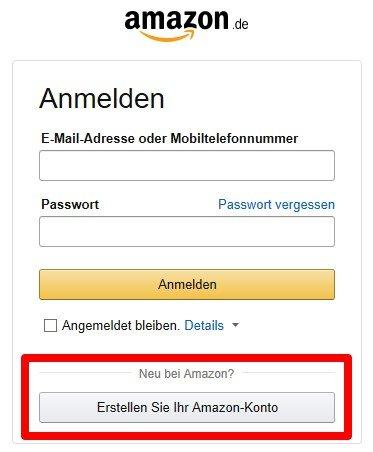 amzon partnernet konto erstellen und anmelden - Amazon Bewerbung
