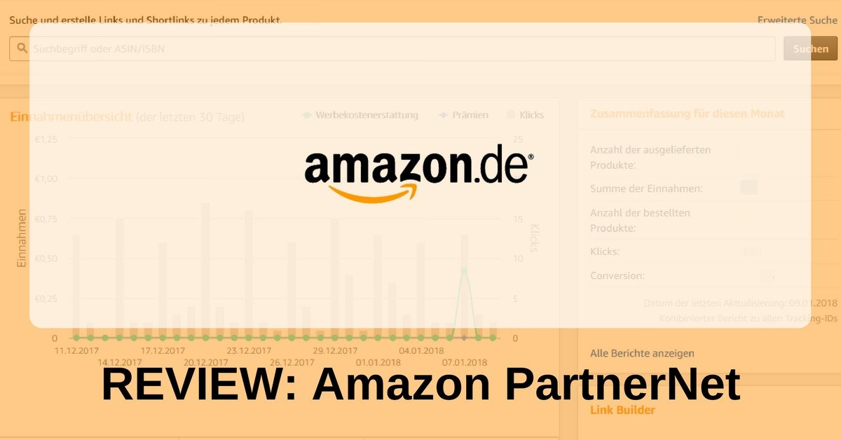 Amazon PartnerNet - Review