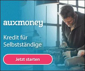 Auxmoney: Kredit für Selbstständige
