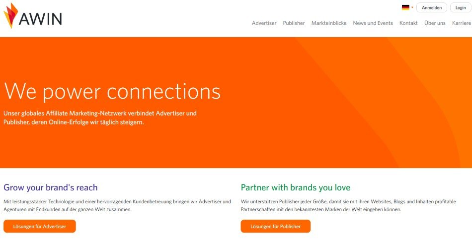 Affiliate-Marketing mit Awin / Zanox