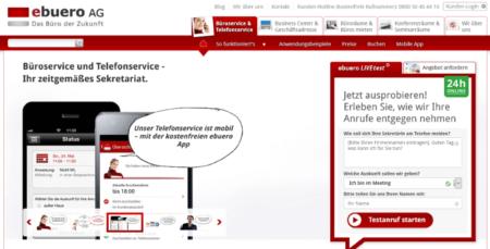 Büro- und Telefonservice von ebüro.de