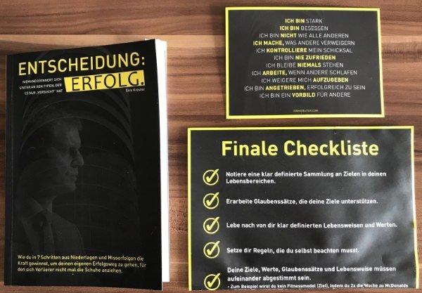 Entscheidung Erfolg - Das Buch von Dirk Kreuter