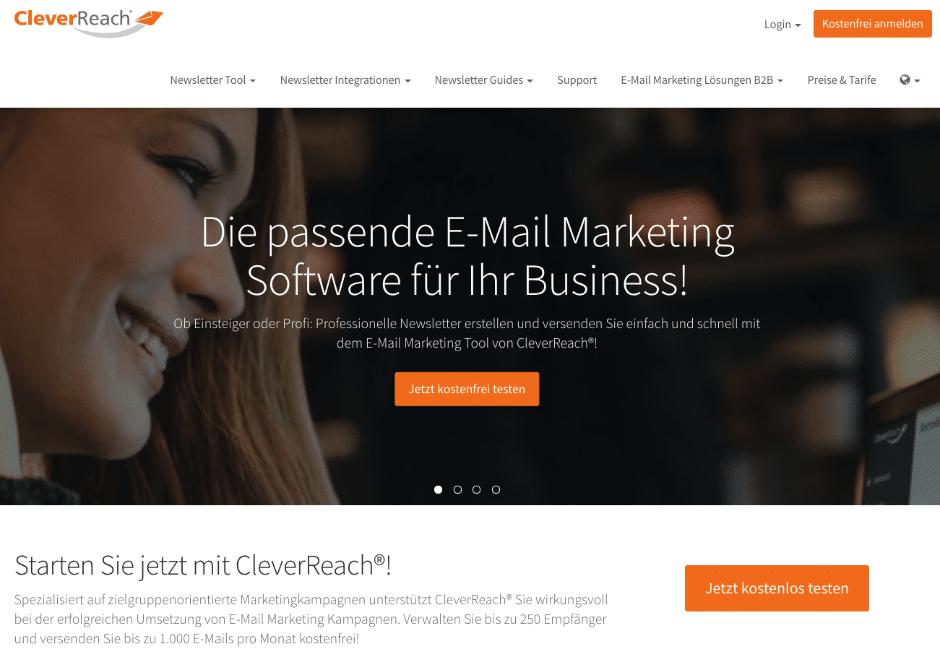 CleverReach: Newsletter-Tool