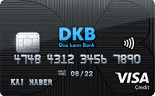 DKB - Reisekreditkarte Visa