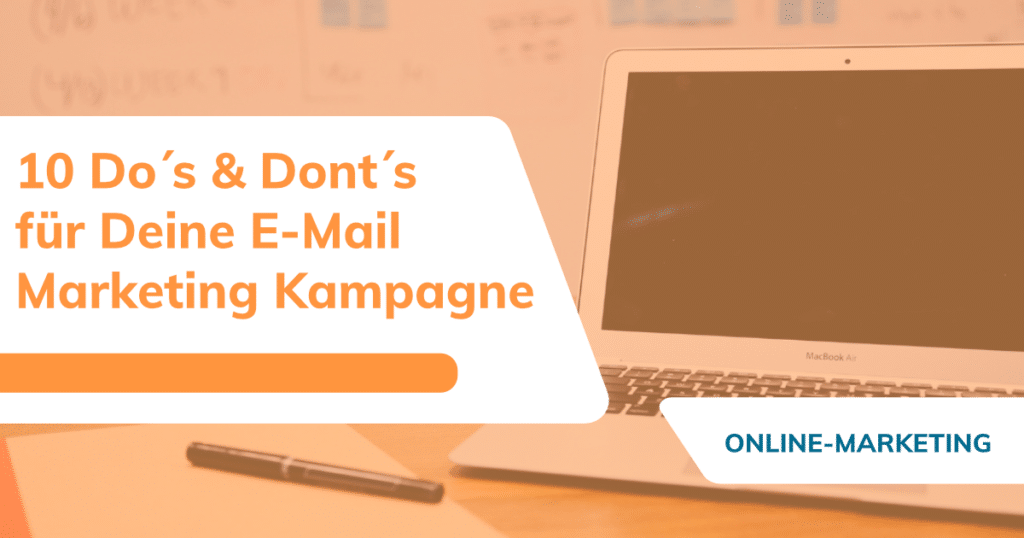 E-Mail Marketing Kampagne