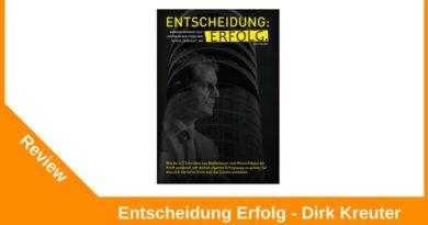 Entscheidung Erfolg - Dirk Kreuter
