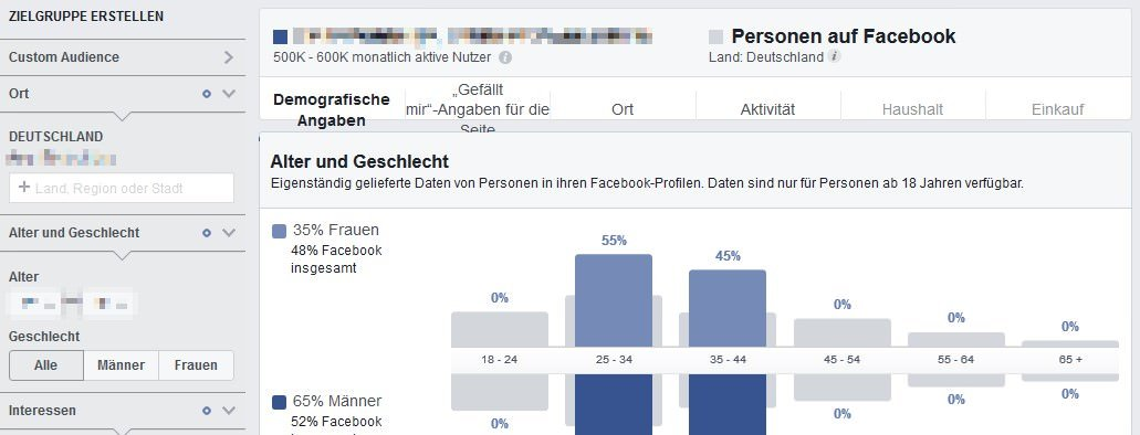 Facebook Fake-Likes: Audience Insights