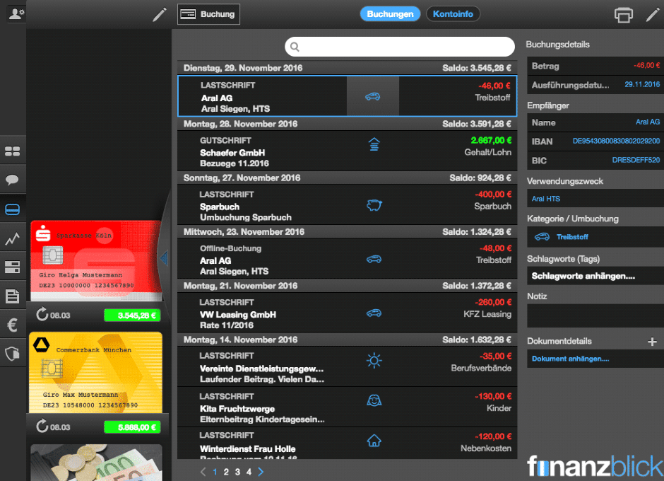 Finanzblick - Banking App