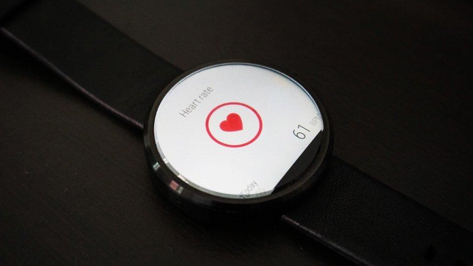 Fitnesstracker mit Herzfrequenzmessung