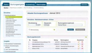 freeFIBU online Buchhhaltungssoftware