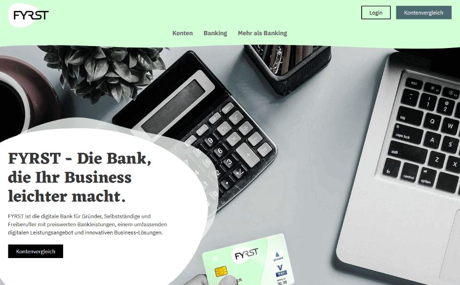 FYRST Geschäftskonto: BASE & COMPLETE eröffnen