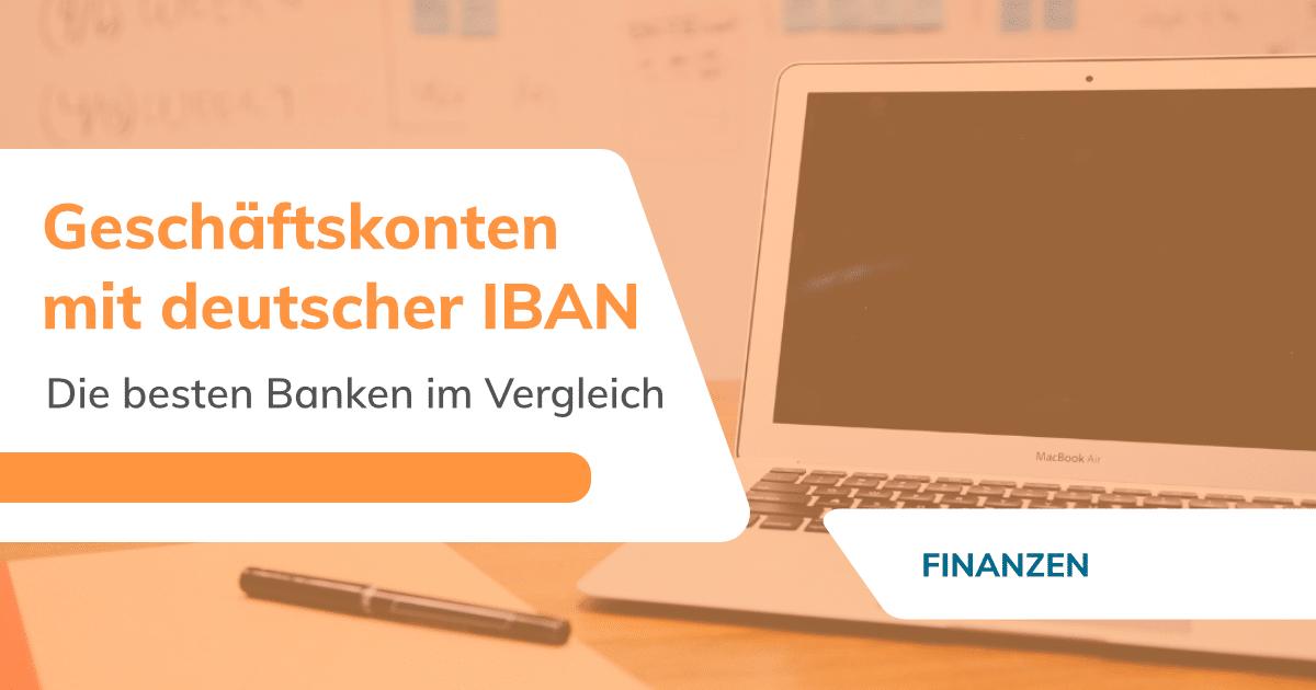 Geschäftskonten mit deutscher IBAN