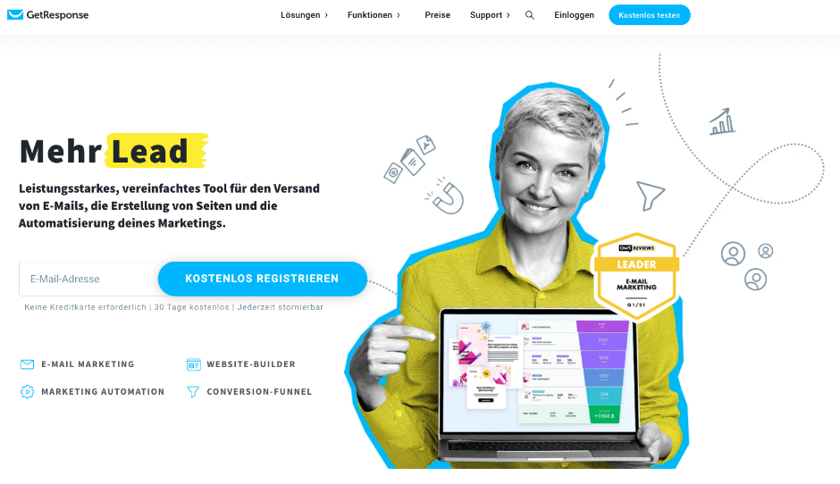 GetResponse: Newsletter-Tool