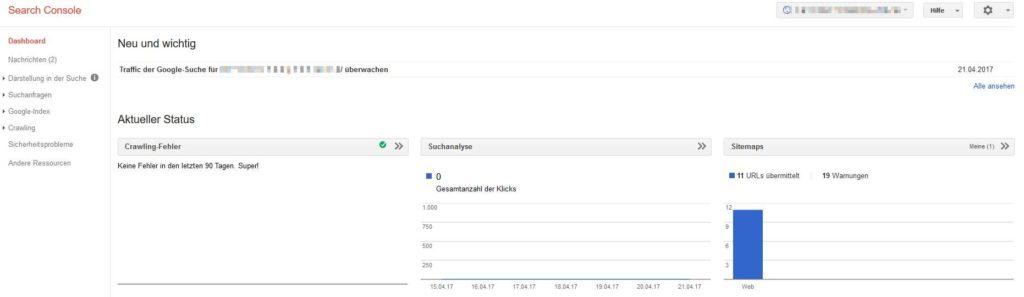 Google Webmaster Tool - Nischenseiten Challenge Optimierung & Vermarktung Teil 2
