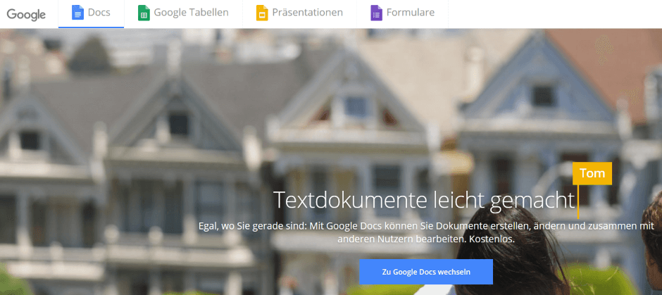 Office-Paket: GoogleDocs