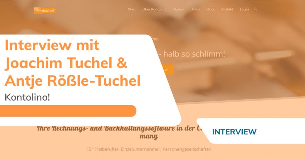 Interview Joachim Tuchel und Antje Rößle von Kontolino!