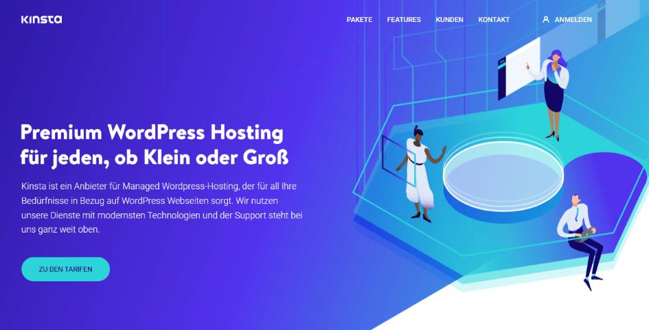 Kinsta - Die besten Webhosting - Anbieter