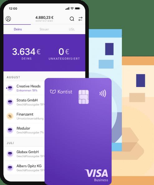 Kontist Geschäftskonto App