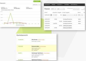 Lexoffice Online-Buchhaltungssoftware