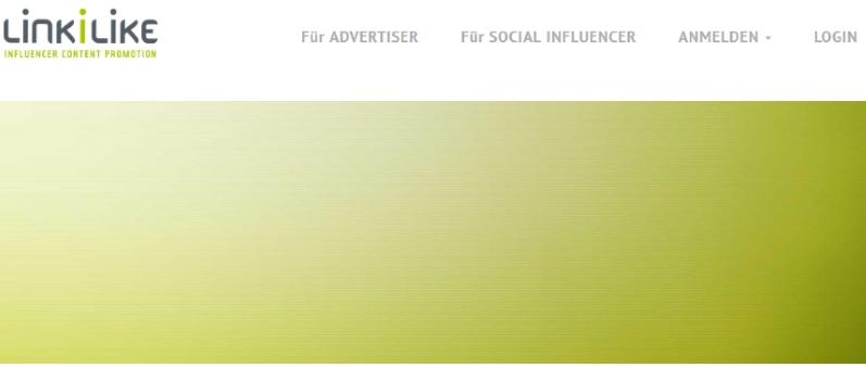 Mit Social Seeding in LINKILIKE Content vermarkten oder mit dem Verbreiten von Inhalt Geld verdienen