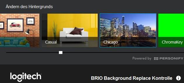 Logitech BRIO 4k Ultra HD Hintergrund