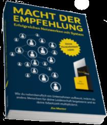 Kostenloses Buch: Macht der Empfehlung - Jim Menter