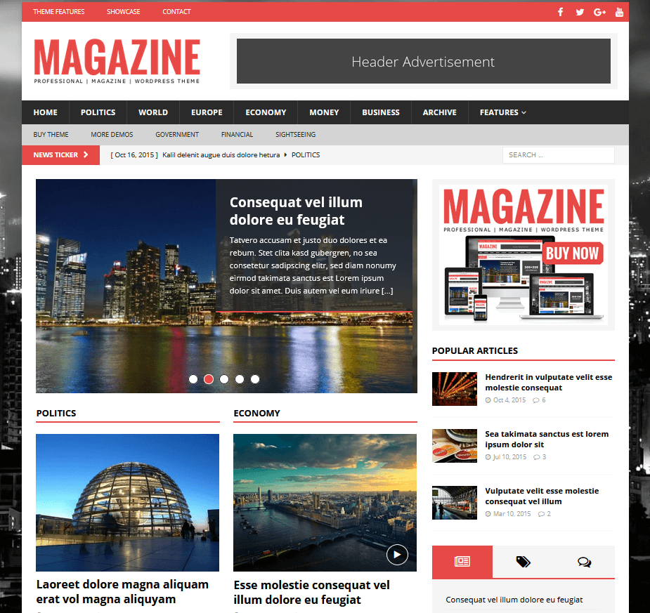 MH Themes - Magazin Theme