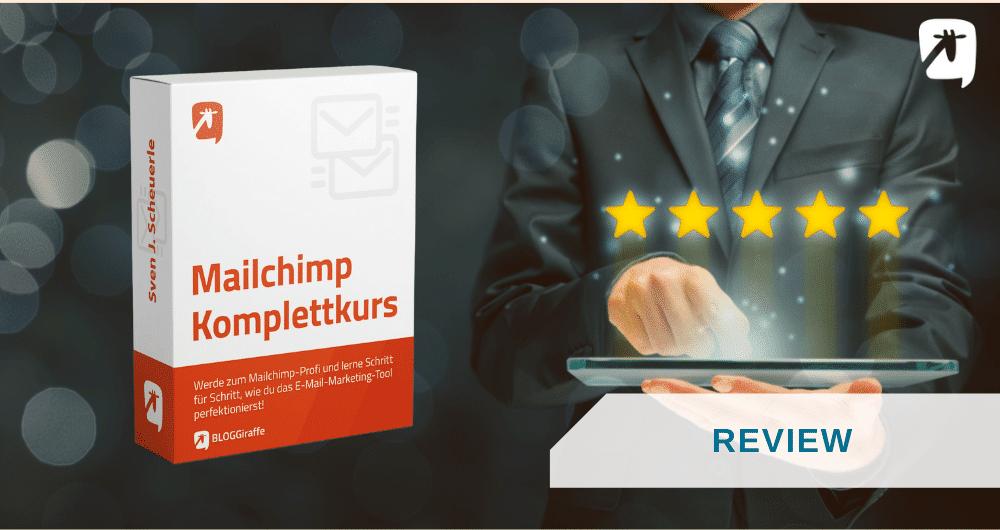 Mailchimp Komplettkurs - Review
