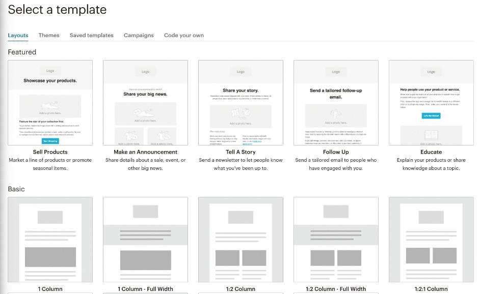 Mailchimp Newsletter Templates