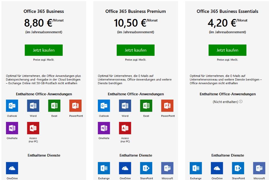Office-Paket: Microsoft Office (Dauerlizenz / Abo)