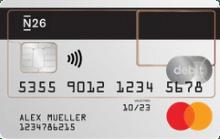 N26 - Reisekreditkarte Mastercard