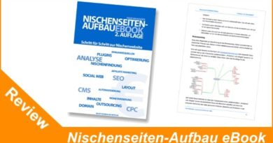 Nischenseiten-Aufbau eBook von Peer Wandiger - Geld verdienen im Internet