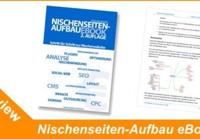 Nischenseiten-Aufbau eBook – Anleitung – Review