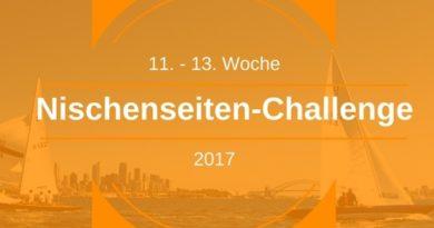 Nischenseiten-Challenge Optimierung