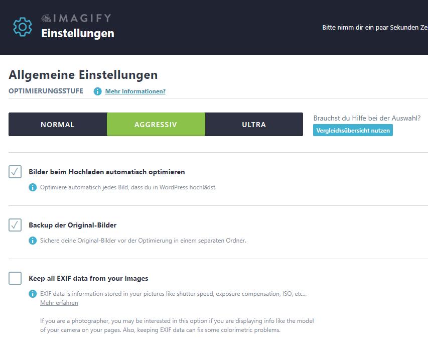 Imagify - Nischenseiten-Challenge 2018
