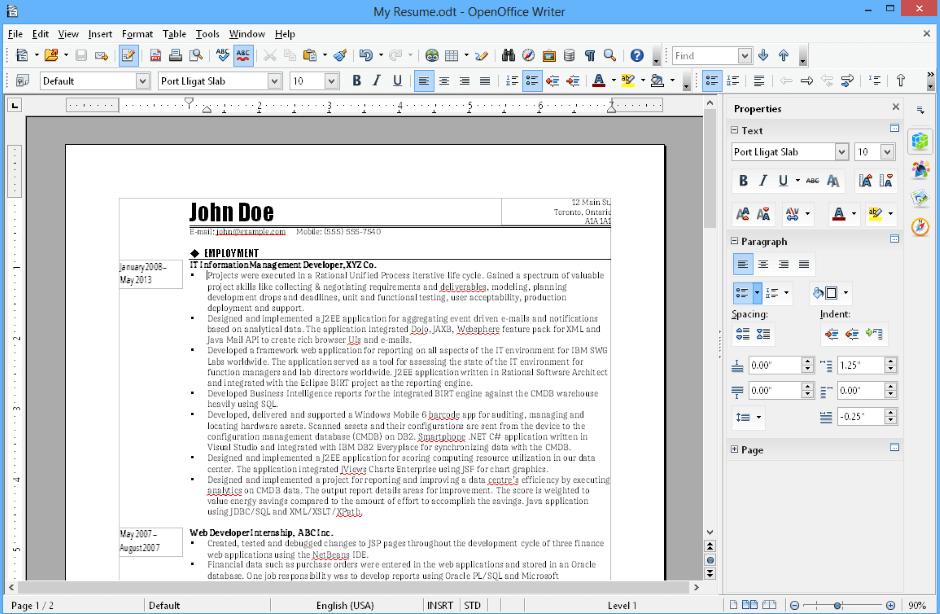 Office-Paket: OpenOffice