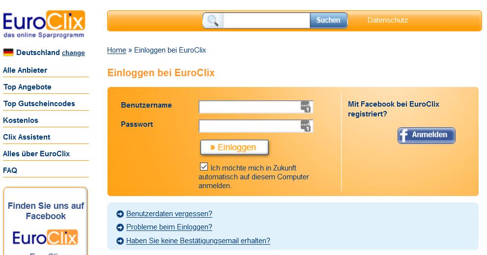 Paidmails: Mit EuroClix im Internet Geld verdienen