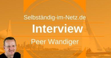 Interview mit Peer Wandiger von selbständig-im-netz.de