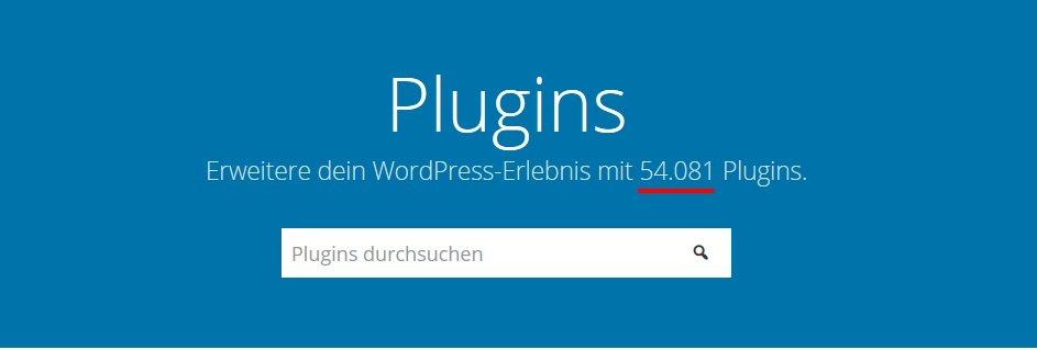 WordPress-Plugin: Verzeichnis