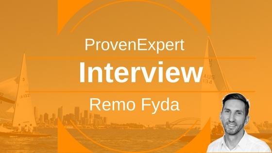 Interview mit Remo Fyda von ProvenExpert