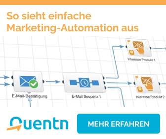 Quentn: E-Mail Marketing Automation