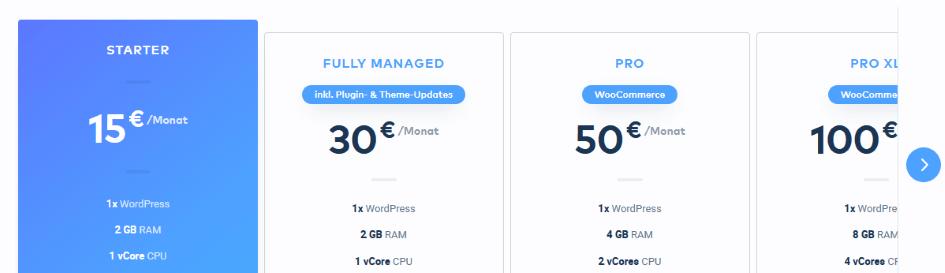 Raidboxes Preise - Die besten Webhosting - Anbieter