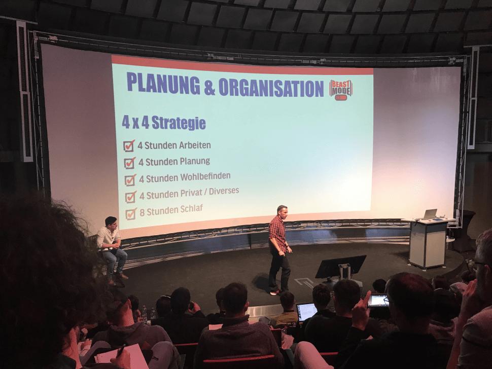 Raus aus dem Hamsterrad Tour - Planung & Organisation