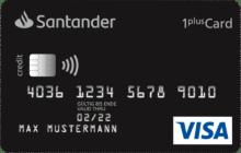 Santander - Reisekreditkarte 1 Plus Visa